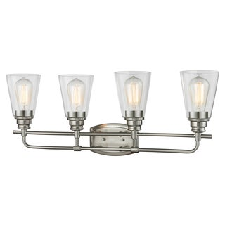 Z-Lite Annora 4-light Brushed Nickel Vanity