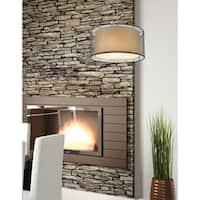 Avery Home Lighting Sedona Black 3-light Brushed Nickel Pendant