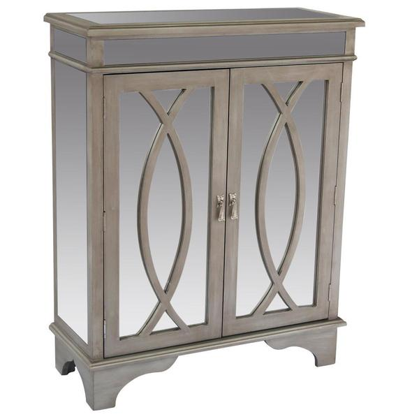Silver Cabinet Free Shipping Today Overstockcom 17111441
