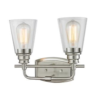 Z-Lite Annora 2-light Brushed Nickel Vanity