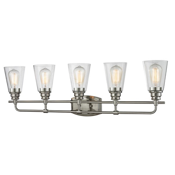 Shop Avery Home Lighting Annora 5-light Brushed Nickel