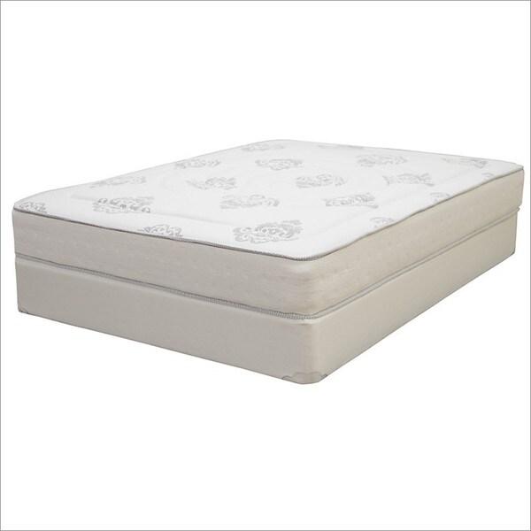 Shop Hampton And Rhodes Trinidad Twin Size Innerspring And Memory Foam Hybrid Mattress Set