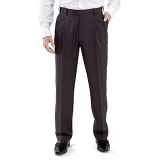 Winthrop & Church Men's Pleated Front Dress Pants|https://ak1.ostkcdn.com/images/products/9958609/P17111655.jpg?impolicy=medium