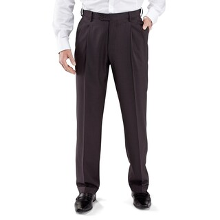 Winthrop & Church Men's Pleated Front Dress Pants (More options available)