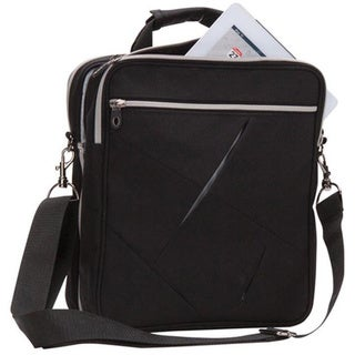 Link to Black Travel Accessories Storage / Organizer  2-in-1 Zip Around Ipad / Tablet / E Reader Messenger Bag Similar Items in Briefcases