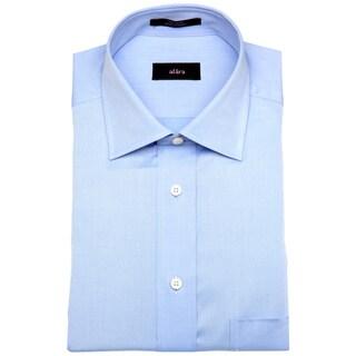 Alara Fine Blue Twill Men's Dress Shirt