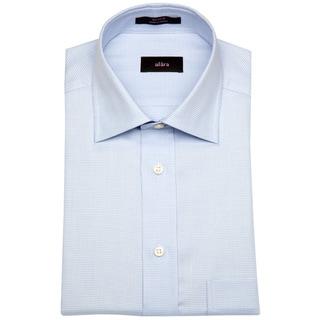 Alara Blue Micro Gingham Men's Dress Shirt