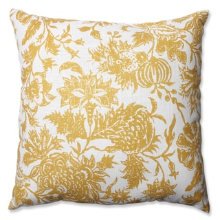 Pillow Perfect Ananya Yellow Throw Pillow