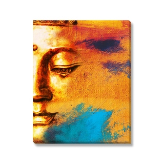 Gallery Direct Leshabu 'Abstract Buddha' Gallery Wrapped Canvas