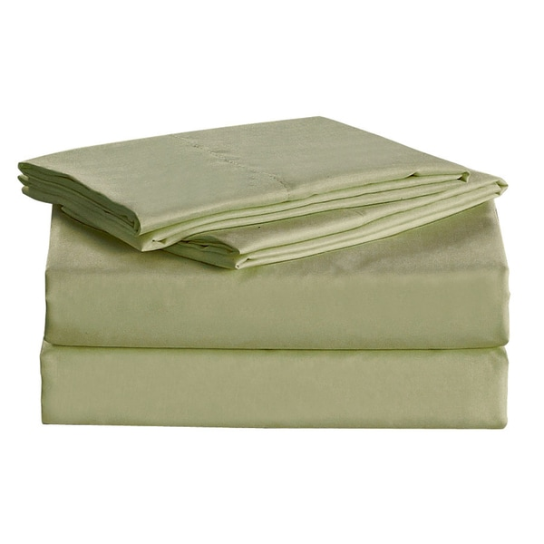 Megan Royal Light Green Sheet Set