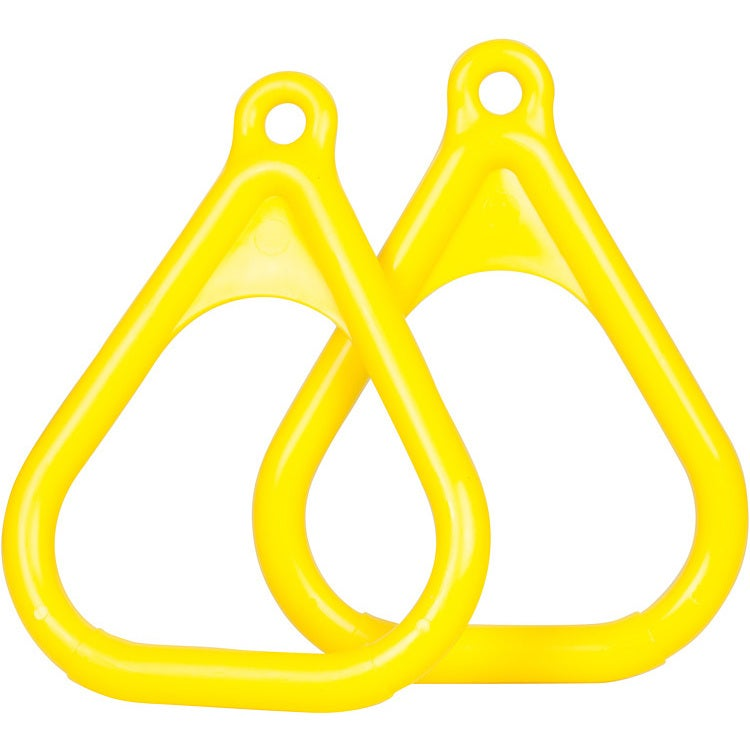 Swing Set Stuff Plastic Trapeze Rings (Yellow)