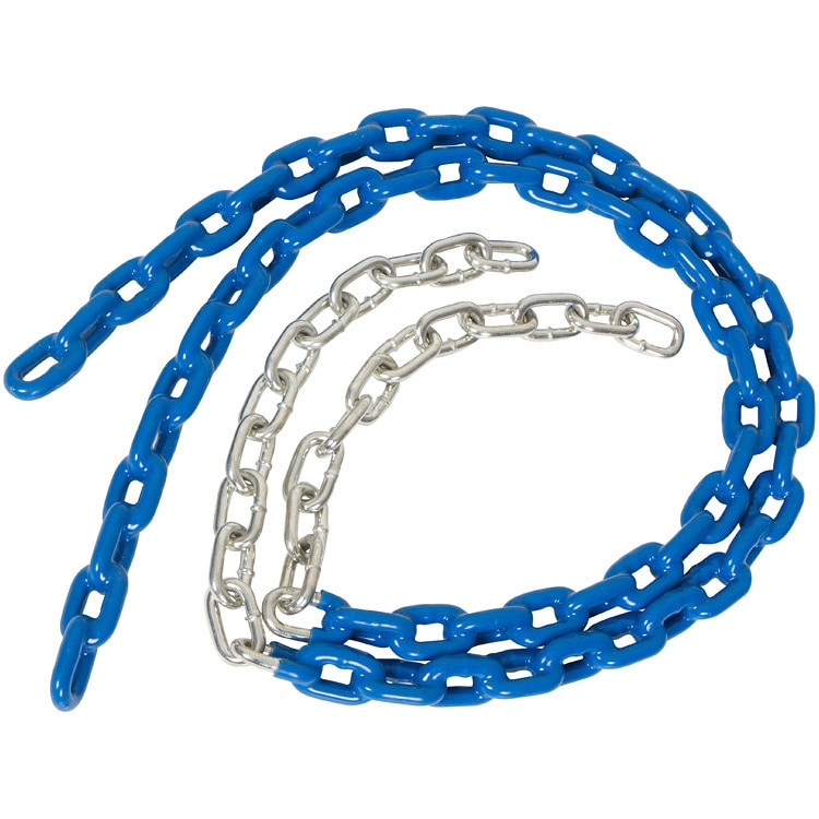 Swing Set Stuff 3 1/2 Ft Coated Trapeze Swing Chain (Blue)