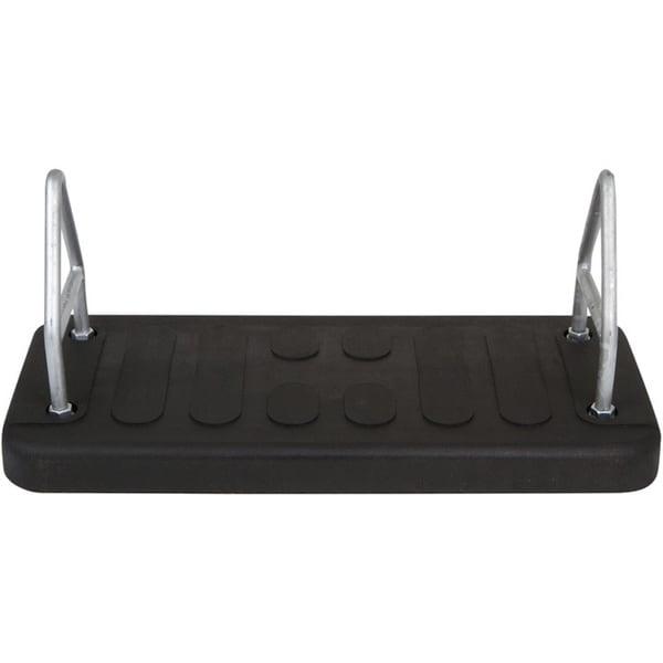 Swing Set Stuff Rubber Mega Flat Seat in Black
