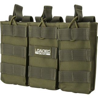 Loaded Gear CX 200 Triple Magazine Pouch OD Green