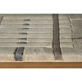 New Wave Stockton Hand-tufted Wool Area Rug (5'3 x 8')