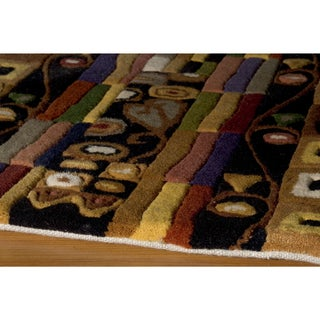 New Wave Stinson Hand-tufted Wool Area Rug (5'3 x 8')