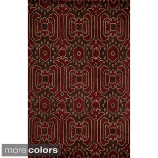 Global Andijon Hand-tufted Wool Area Rug (5' x 8')