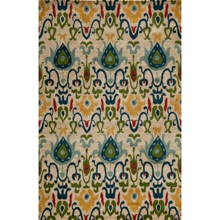 Global Khiva Hand-tufted Wool Area Rug (5' x 8')