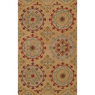 Global Cormac Hand-tufted Wool Area Rug (5' x 8')