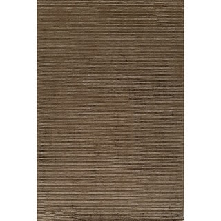 Momeni Hudson  Hand-Loomed Wool and Viscose Rug (5' X 8')