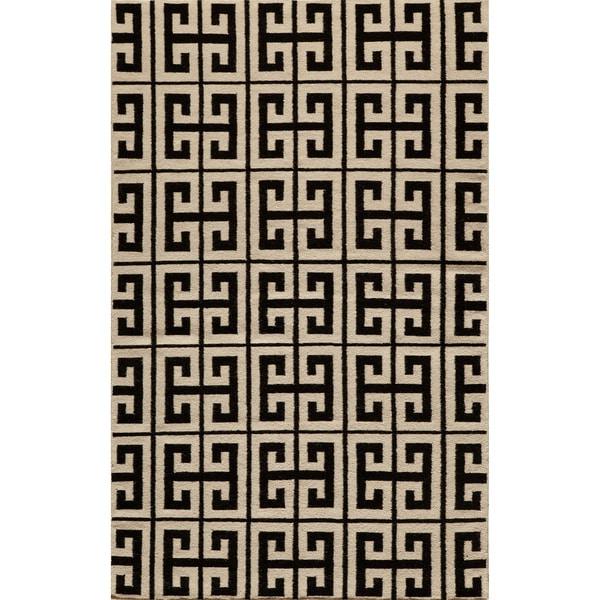 Momeni Laguna Hand Woven Wool Rug 5 X 8 Free