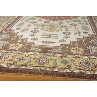 Royal Persian New Zealand Wool Hand-finished Area Rug (5' x 8')
