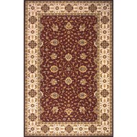 Momeni Persian Garden Burgundy NZ Wool Rug (5' X 8') - 5' x 8'
