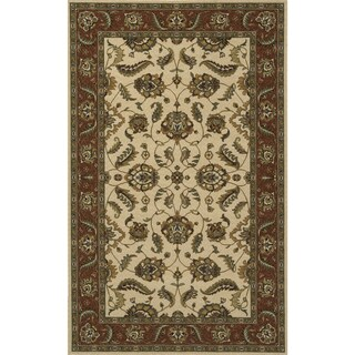 Momeni Persian Garden Ivory NZ Wool Rug (5' X 8')