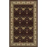 Momeni Persian Garden Burgundy NZ Wool Rug (5' X 8') - 5' x 8'