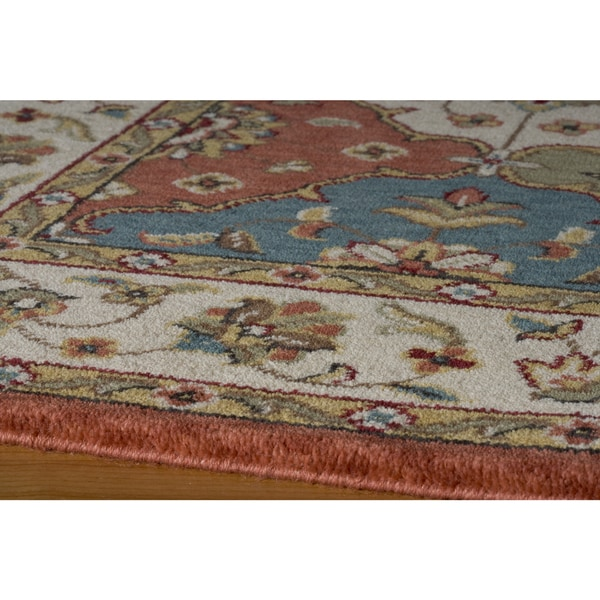 Momeni Persian Garden Multicolor NZ Wool Rug - Multi - 5' x 8'