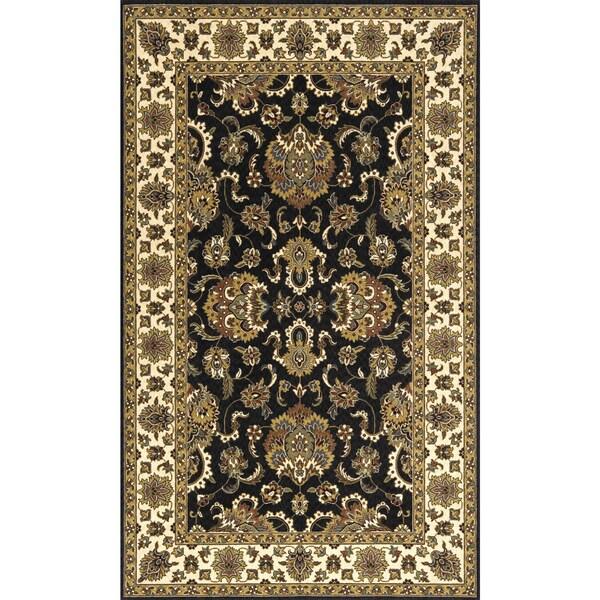Momeni Persian Garden Charcoal NZ Wool Rug (5' X 8') - 5' x 8'
