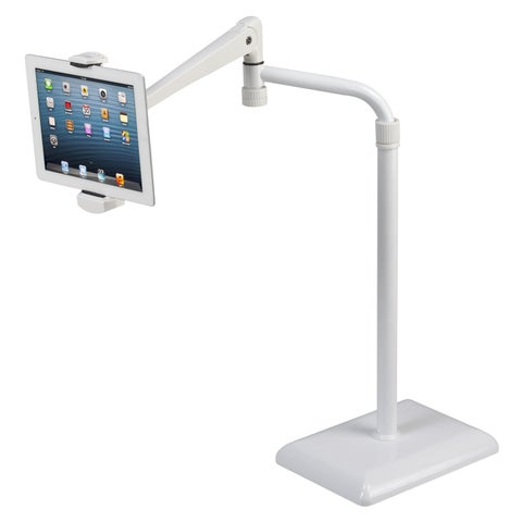 idee Height Adjustable 360-degree Rotating Floor Stand for Tablets