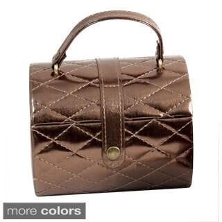 Bey Berk 'Emma' Leatherette Jewelry Travel Case