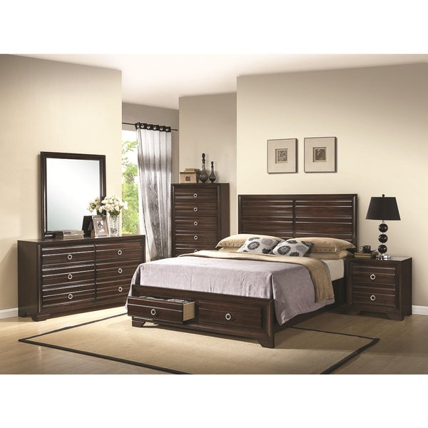 brianna 5 piece bedroom collection - overstock - 9959633