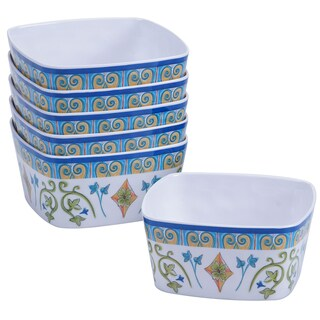 Certified International Tuscany Painted Ice Cream Bowls (Set of 6)