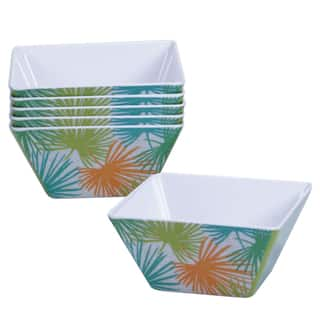 Certified International Paradise Painted Ice Cream Bowls (Set of 6)