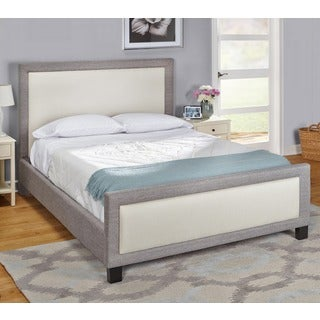Simple Living Eirene Upholstered Queen-size Bed