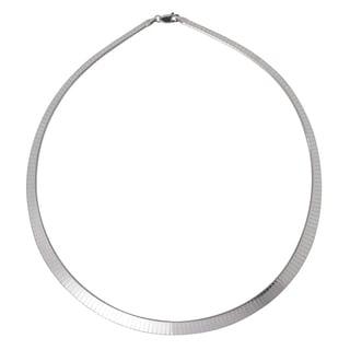 Karizia Sterling Silver Omega Necklace