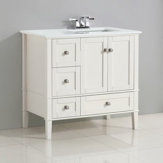 White Inches Bathroom Vanities Vanity Cabinets Shop The