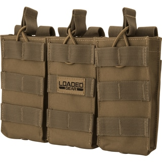 Loaded Gear CX 200 Triple Magazine Pouch Flat Dark Earth