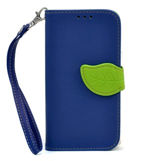 Dasein Faux Leather Leaf Wallet Phone Case for Samsung Galaxy Note 3