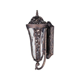 Maxim Vivex Water Glass Shade Montecito 2-light Outdoor Wall Mount Light