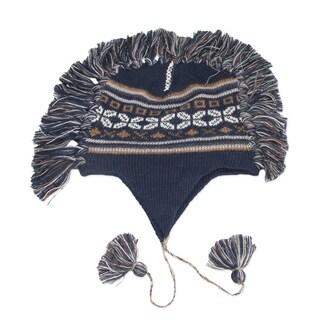 Handmade Alpaca 'Puquio Adventure' Chullo Hat (Peru)