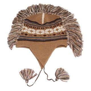 Handcrafted Alpaca 'Cochas Adventure' Chullo Hat (Peru)