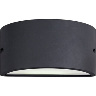 Maxim Bronze Aluminum White Acrylic Lens Shade Zenith EE 1-light Outdoor Wall Mount Light