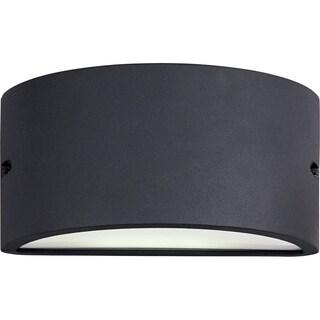 Maxim Bronze Aluminum White Acrylic Lens Shade Zenith EE 1-light Outdoor Wall Mount Light