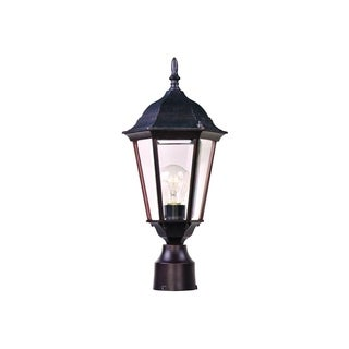 Maxim Bronze Westlake Aluminium Shade 1-light Outdoor Pole/ Post Mount Light