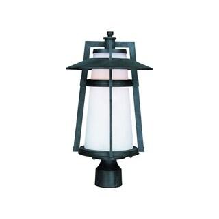 Maxim Aluminium Shade Calistoga LED 1-light Outdoor Pole/ Post Mount Light