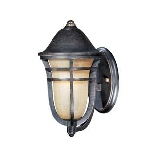 Maxim Bronze Vivex Mocha Cloud Shade Westport 1-light Outdoor Wall Mount Light