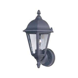 Maxim Black Die Cast Aluminum Clear Shade Westlake 1-light Outdoor Wall Mount Light
